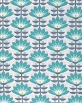 Atrium PWJD107 Mint Deco Bloom by Joel Dewberry for Free Spirit