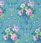 Caravelle Arcade PWJP097 Blue Daisy by J Paganelli for Free Spirit