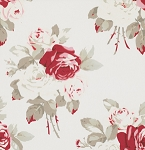 Petal PWTW055 Ivory Lg Antique Roses by Tanya Whelan for Free Spirit