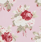 Petal PWTW055 Pink Lg Antique Roses by Tanya Whelan for Free Spirit