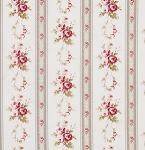 Petal PWTW056 Ivory Antique Ticking Roses by Tanya Whelan