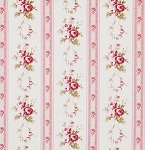 Petal PWTW056 Pink Antique Ticking Roses by Free Spirit