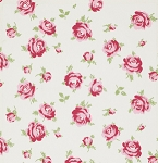 Rosey PWTW062 Ivory Little Roses by Tanya Whelan for Free Spirit