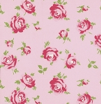 Rosey PWTW062 Pink Little Roses by Tanya Whelan for Free Spirit