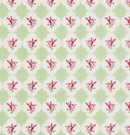 Rosey PWTW066 Green Cameo Rose by Free Spirit EOB .36 yd
