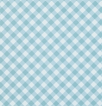 Sunshine Rose PWTW070 Blue Gingham by Tanya Whelan