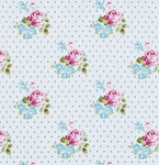 Sunshine Rose PWTW071 Blue Hanky Rose by Tanya Whelan