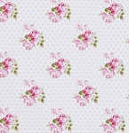 Sunshine Rose  PWTW071 Pink Hanky Rose by Tanya Whelan EOB