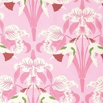 Chloe PWTW099 Pink Birds by Tanya Whelan for Free Spirit