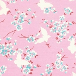 Chloe PWTW100 Pink Butterfly by Tanya Whelan for Free Spirit