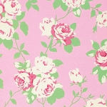 Chloe PWTW101 Pink Rose Vine by Tanya Whelan for Free Spirit