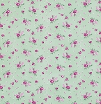 Billet-Doux PWVM103 Spruce Rosebud by Verna Mosquera for Free Spirit