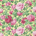 Snapshot  PWVM113 Butter Rose Garden by Free Spirit