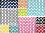 Quatrefoil 10 Fat Quarter Set by Riley Blake
