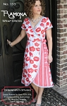 The Ramona Wrap Dress Pattern by Serendipity Studio