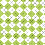 Remix 10392-50 Lime Argyle by Robert Kaufman