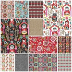 Riding Hood 12 Fat Quarter Set by Josephine Kimberling for Blend