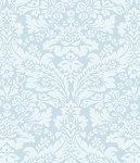 Garden Rose 586 B Blue Damask by Rachel Ashwell EOB
