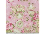 Rose Garden Tea for Two by Northcott