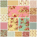 Rose Hill Lane 18 Fat Quarter Set by Robyn Pandolph for RJR