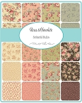 Roses & Chocolate Jelly Roll by Sentimental Studios for Moda