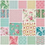 Rosewater Charm Pack by Verna Mosquera for Free Spirit