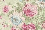 RURU Bouquet RU2200-11C Green Large Floral by Quilt Gate