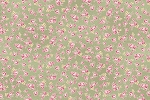 RURU Bouquet RU2200-18C Green Small Floral by Quilt Gate