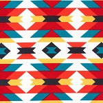 Enchanted Organic Serape by Michelle Engle Bencsko for Cloud 9