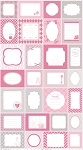 Sew Labels 2 C2501 Pink by Riley Blake EOB