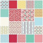The Shabby Strawberry 20 Fat Quarter Set by Penny Rose