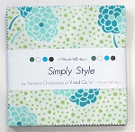 Simply Style Charm Pack by V & Co for Moda