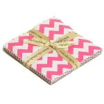 "Small Chevron 5"" Stacker Charm Pack by Riley Blake"