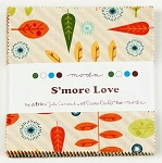 S'more Love Charm Pack by Eric & Julie Comstock for Moda