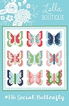 Social Butterfly Quilt Pattern by Lella Boutique