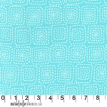Stitch Square CX5944 Aqua by Michael Miller