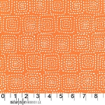 Stitch Square CX5944 Orange by Michael Miller