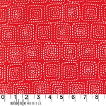 Stitch Square CX5944 Red by Michael Miller EOB