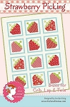 Strawberry Picking Quilt Pattern by It's Sew Emma