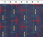 Summerland Y1470-96 Blue Geo by Clothworks