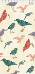Summerland Y1472-57 Cream Birds by Clothworks