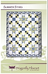 Summer Stars Quilt Pattern by Dragonfly Fiberart
