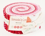 Surrounded by Love Jelly Roll by Deb Strain for Moda