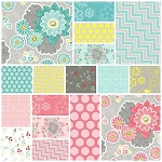 Sweet Harmony 17 Fat Quarter Set by Henry Glass