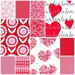 Sweetheart 11 Fat Quarter Set by Michael Miller