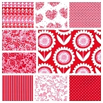 Sweetheart 9 Fat Quarter Set by Michael Miller