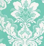 Tea Cakes VM37 Wintergreen Faded Wallpaper by Verna Mosquera