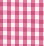 Tea Cakes VM43 Raspberry Checkered Napkin by Free Spirit