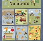 Ten Little Things 30500-12 Panel by Moda EOB