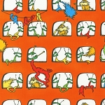 The Lorax 11841-195 Bright Windows by Dr. Seuss for R Kaufman